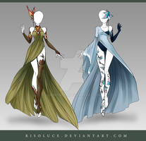 (CLOSED) Adoptable Outfit Auction 122-123 by JawitReen