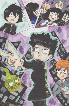 mob psycho 100 by cute-girle1999