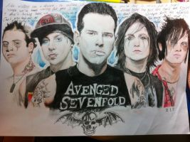 Avenged Sevenfold by seasparkle-lioness