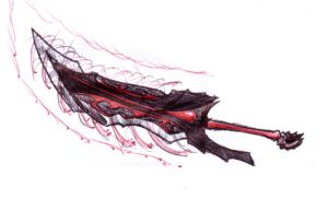 demonic sword by spagi