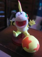 Clay Lemmy Koopa from New Super Mario Bros. Wii! by Demetrax1