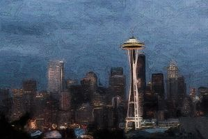 Seattle Stucco by dive4phil