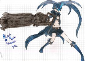 Black Rock Shooter by Ravenkie