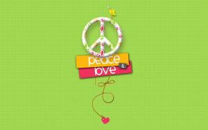 Peace and Love by MyPink