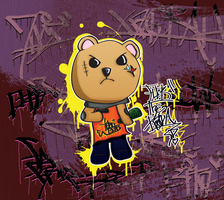 Thug BEAR by LulzFellipe