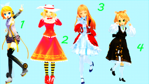 MMD Pose Pack 7 by Aisuchuu