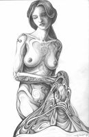 Drawing - Pencil - Unveil by MrWoodthrush
