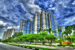 Condos HDR by bluetears76