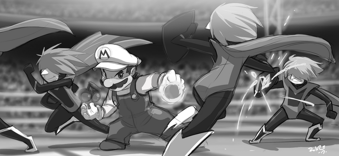 Nintendo the Impossible 3: THE MIGHTY M (Sho44) by Tigershard-R