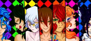 Seven Deadly Sins by Bludile