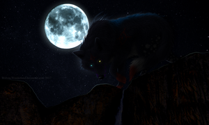 COMM: I Am the Night by Wolven-Wonderland