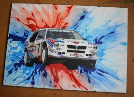 LANCIA DELTA S4 Group B by scrim23