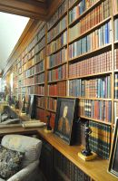 Anglesey Abbey Library by Forestina-Fotos