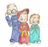 Alvin and the Chipmunks by DetectiveToony