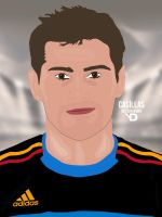 Casillas Vector by bluezest1997