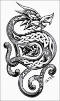 celtic dragon 3 by roblfc1892