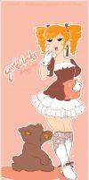 Goldilocks and Baby Bear by katsu