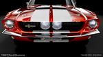 1967 Ford Mustang Front View by abanimation