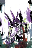 ARTY EVANGELION by peekflow666