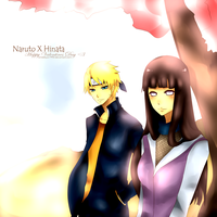 NaruHina COLOREDversion by anrebkyo1990