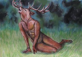 Stag by corvox