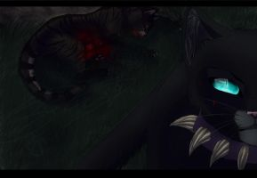 BLOOODY !!! Tigerstars death 2013 - Speedpaint by Espenfluss