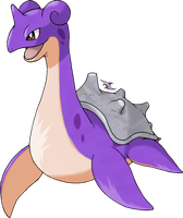 Lapras Shiny Coloration by Xous54