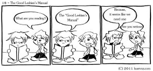 IS 18 Good Lesbian's Manual by AndreaTn