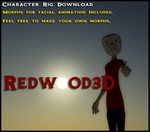 3D Studio Max Character Rig 2 by REDWOOD3D