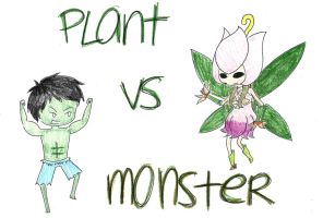 RQ: Plant vs Monster by Falling-Wish