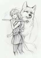 Miza the Wolf by Ritusss