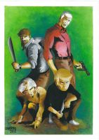 Jonny Quest by MickLambrou