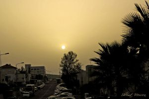 Haze at early morning by ShlomitMessica