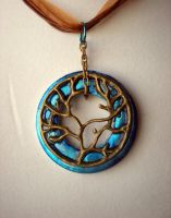 Blue Tree of Life by rowan300