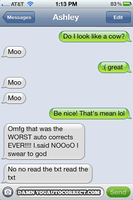 best auto correct ever by MelinaThePoet