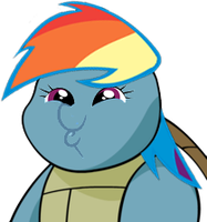 Rainbow Dash Is Best Squirtle by PinkiePizzles