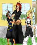 KH2: Thanksgiving Dinner by DarkVal