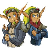 Jak II and Jak X by Chauvels