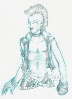 80s Punk Storm by angiepk
