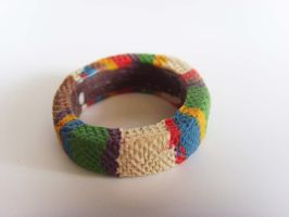 Doctor Who Tom Baker Scarf Ring 2 by tyney123