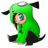 Little Gir Cutie by CyanCanine