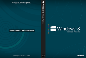 Windows 8 Release Preview Cover Art by DerfBWH