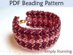 Simply Stunning PDF Beading Pattern by SimpleBeadPatterns