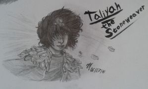 Taliyah, the Stoneweaver by AaronZX1