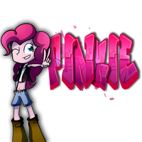 Graffity: Pinkie! by FJ-C