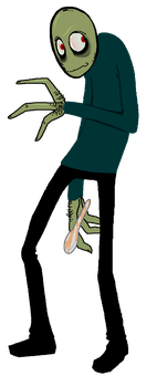 Salad Fingers by Cageyshick05