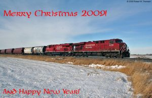 Merry Christmas 2009 by hunter1828