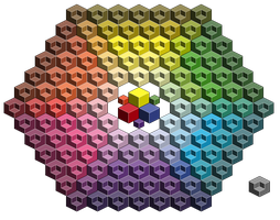 Isometric color 'circle' by LsL925