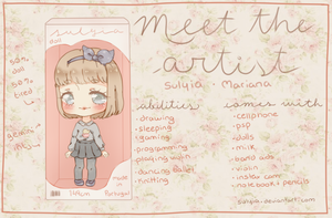 Meet The Artist by sulyia