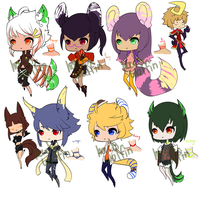Choas Rings Adopts [#2] closed ty by Hackwolfin